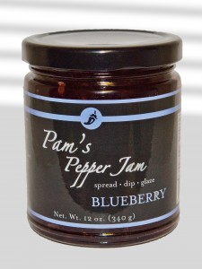 blueberry pepper jam